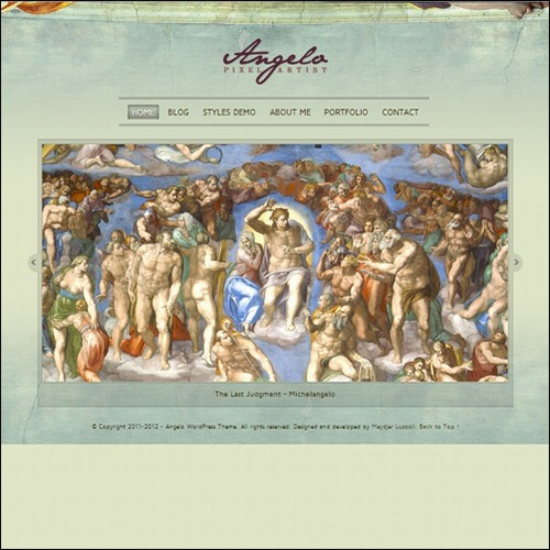 Angelo- Art WordPress Theme
