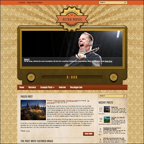 retromusic-wp-theme