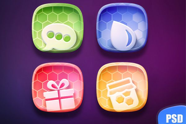 01 free colorful iconset 35 Brilliant Free Icon Sets for Designers