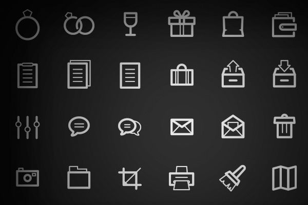 35 Detailed Icons