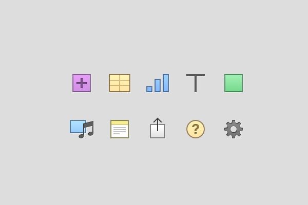 Pages Icons