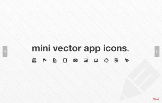 150 Free Mini Vector App Icons