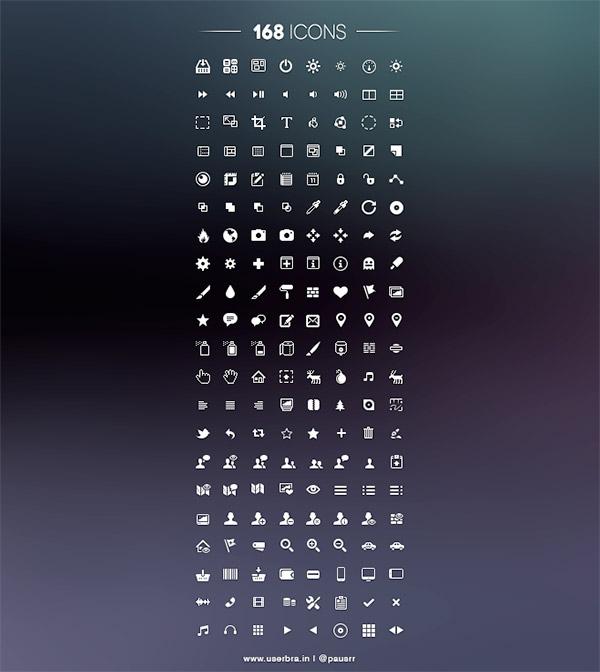 168 Icons