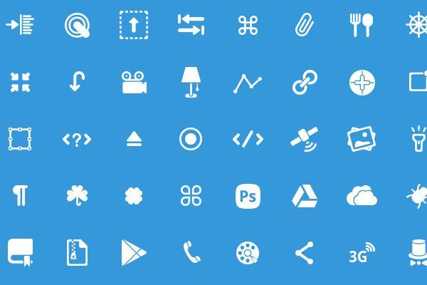 50 Glyphs Set