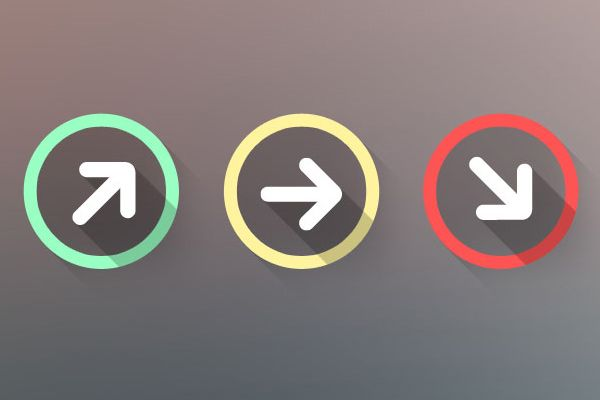 Arrow Status Icons