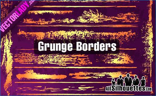 Grunge Borders