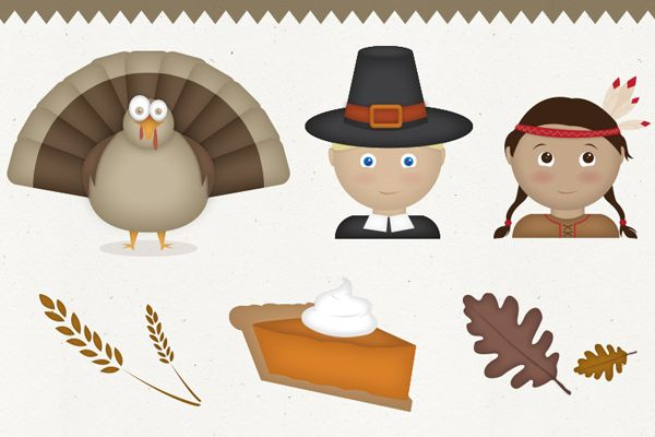 Thanksgiving Vectors