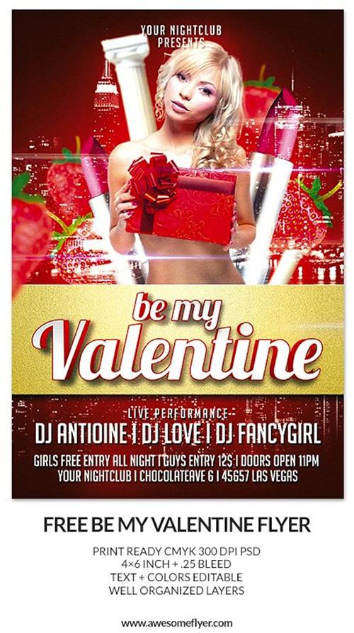 best-free-valentine's day flyer templates