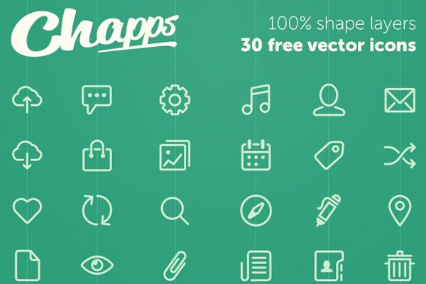 Vector Icons by Chapps