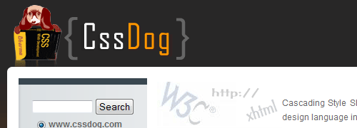 cssDog - screen shot.