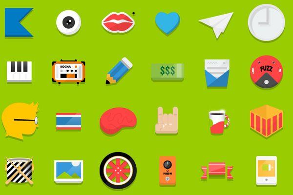 Random Flat Icons