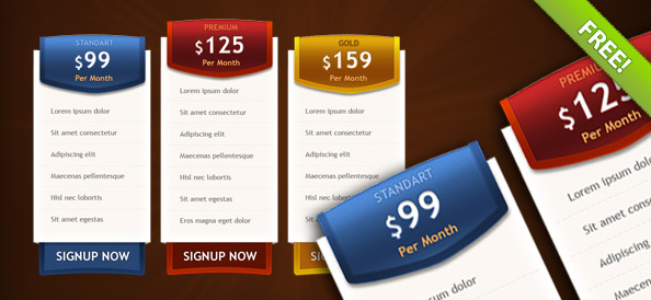 3_PSD_Pricing_Boxes_Preview_Small - best Free Photoshop Templates