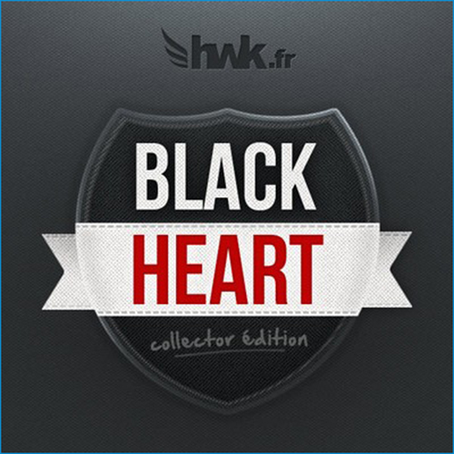 Black Heart Badge