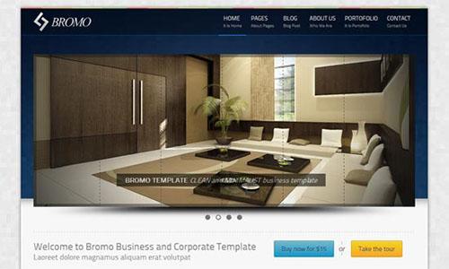 Bromo Free Premium HTML5 CSS3 Responsive Template
