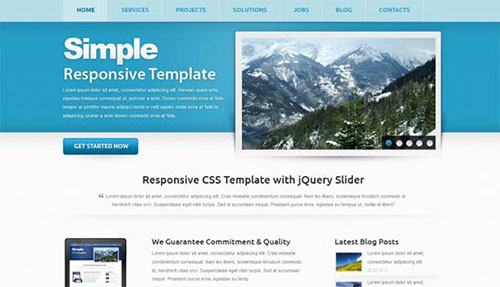 Corporate Responsive template