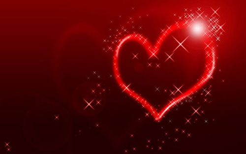 Create an abstract Valentine background with hearts2 Valentine Design