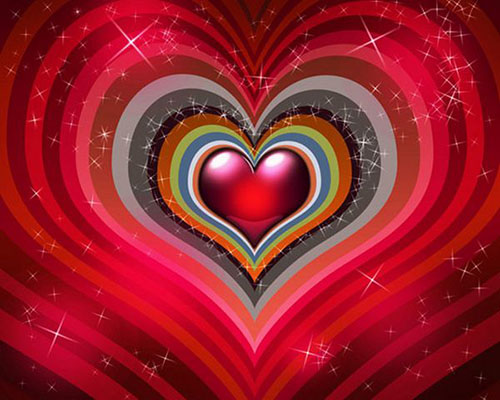 Create colorful background for Valentines Day1 Valentine Design