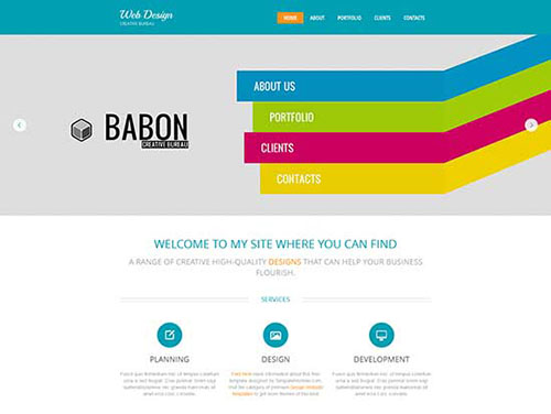 free html5 css3 templates Design Studio