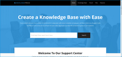 FAQ WordPress Theme