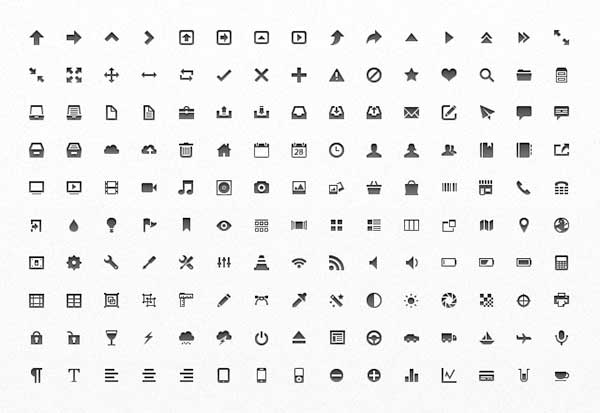 Free Mini Vector App Icons