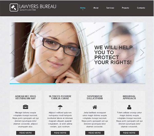 Free Responsive html5 css3 templates 2013