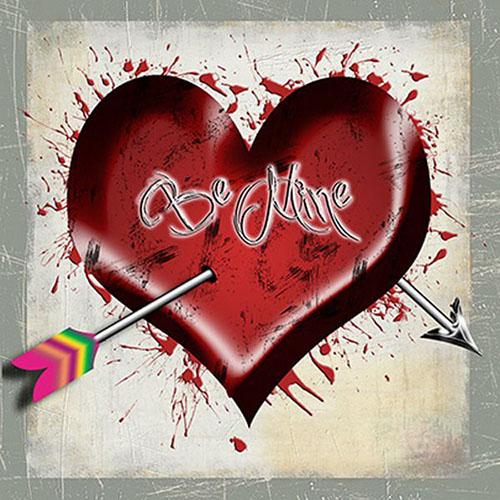 Grunge Valentines Design+ Valentine Design