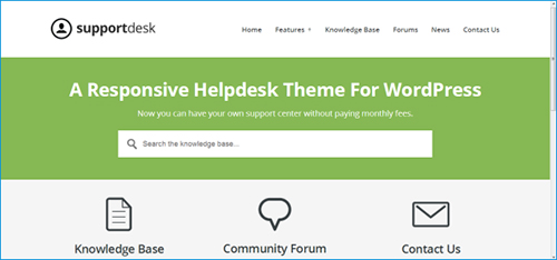 Helpdesk WordPress Theme