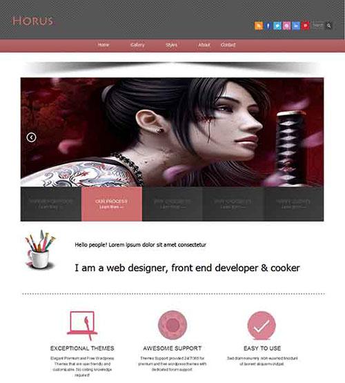 Horus-Responsive-layout-HTML