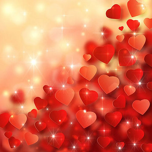How to Create Amazing Valentines Day Background with Abstract Hearts in Adobe Photoshop CS62 Valentine Design