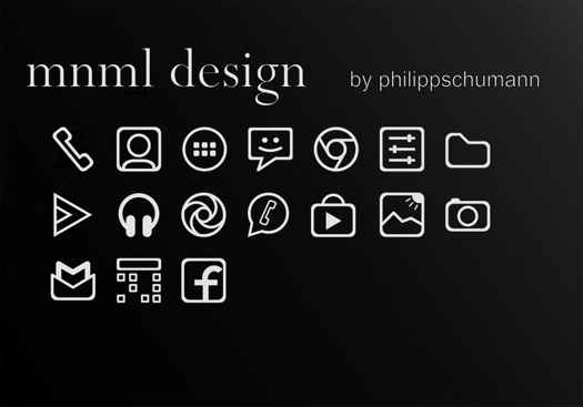 Icons for Smartphones
