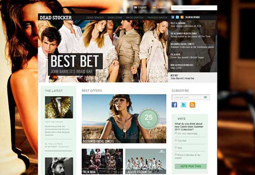 free html5 css3 templates Magazine Style