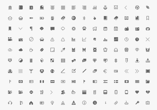 Minimalist Icons set