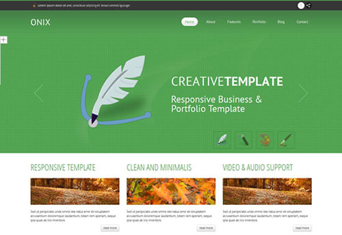 ONIX-free-Responsive-Business-template