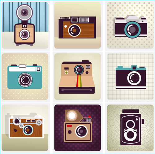 10 Free Hipster Vectors