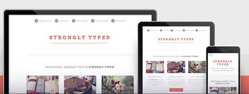 Strongly-Typed responsive template