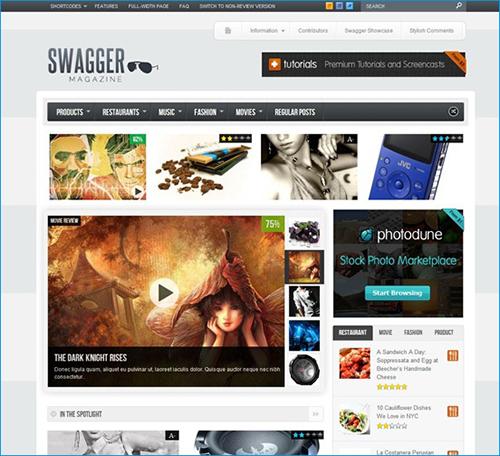 SwagMag WordPress Magazine Theme
