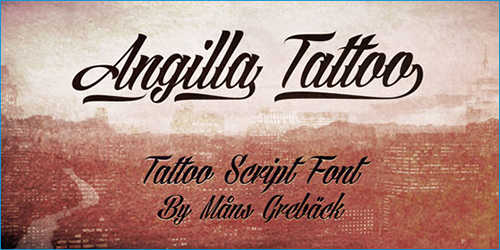 free calligraphy tattoo fonts