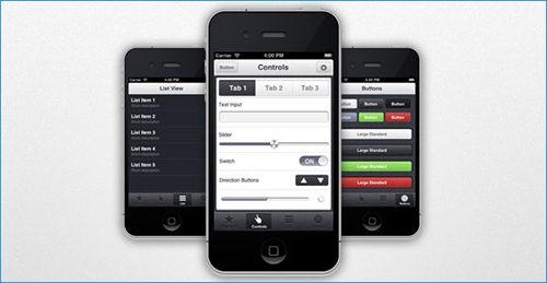 appview-mobile-ui-kit-template