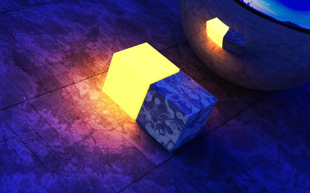 Light Cubes Desktop Wallpapers