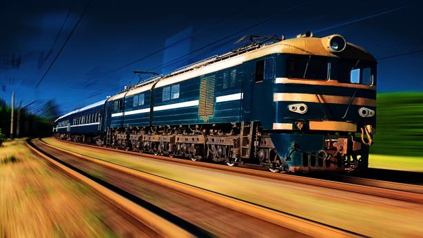 Fast Train Desktop Wallpapers