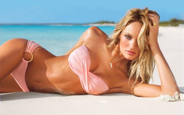 Sexy Bikini Beach Girl Desktop Wallpapers