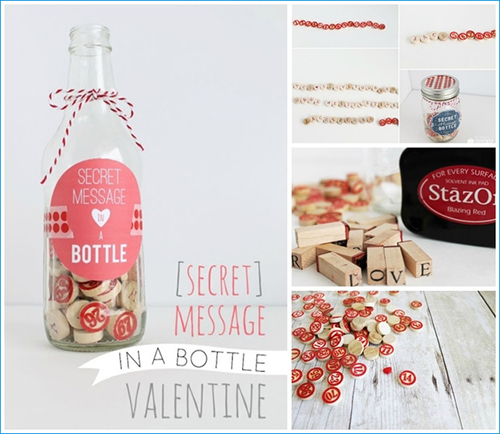 Secret Message in a Bottle (or Jar)