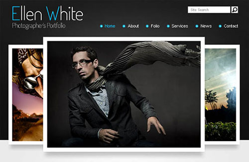 Free Photography Portfolio HTML5 CSS3 Template