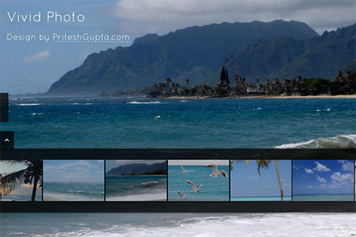 VividPhoto HTML5 and CSS3 Template
