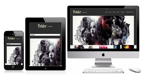 Folde - Creatives Responsive Showcase