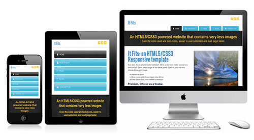 It Fits Free HTML5 CSS3 Responsive Template