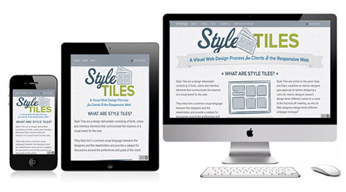 Style Tiles - Free HTML5 CSS3 Template
