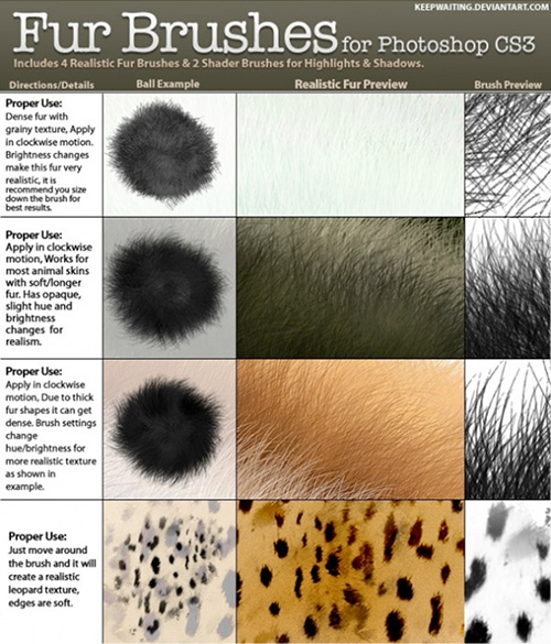 fur_free_Photoshop_brushes