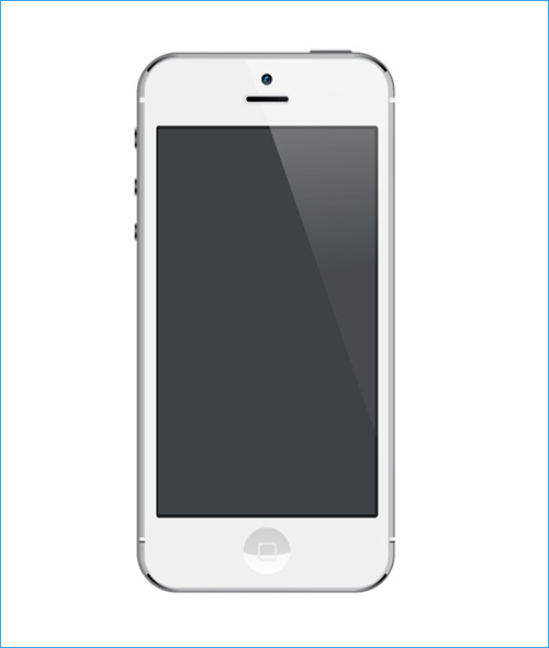 Free iPhone psd-template