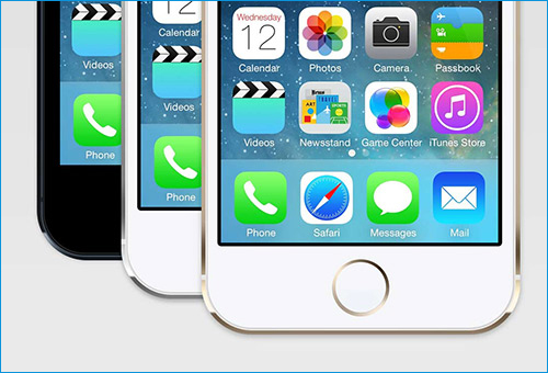iPhone 5s mock up